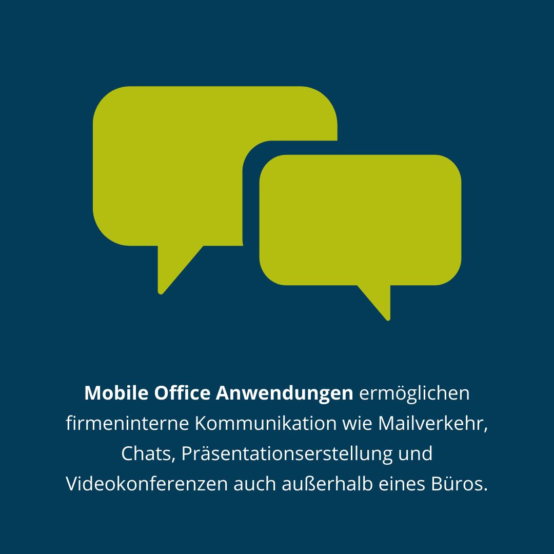 Mobile Office Anwendungen