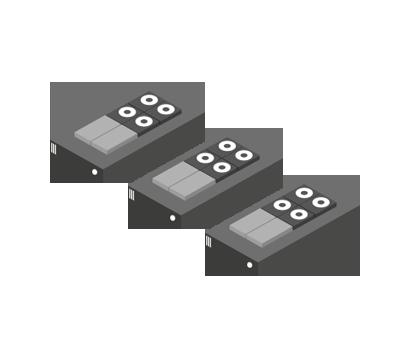 Industrie Standard Server mit internen Laufwerken