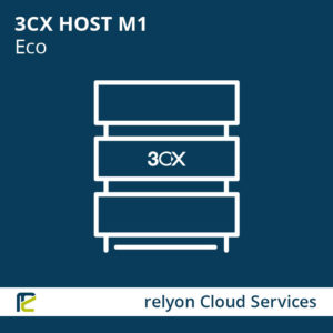 relyon Cloud Services, 3CX HOST M1 Eco