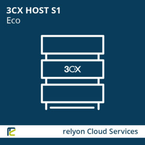 relyon Cloud Services, 3CX HOST S1 Eco
