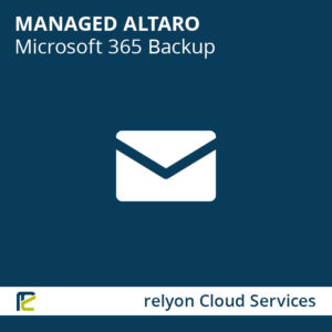 relyon Cloud Services, Managed Altaro Microsoft 365 Backup – Mailbox