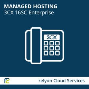 relyon Cloud Services, Managed Hosting 3CX 16SC Enterprise